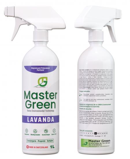 Master green lavanda